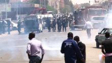 جانب من مواجهات سابقة بين نشطاء حركة إيرا وقوات الامن الموريتانية (أرشيف)