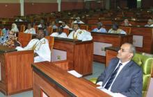جانب من الجلسة البرلمانية ظهر الثلاثاء 22 ديسمبر 2015 والتي صادقت على مشروعي قانونين حول مجتمع المعلومات والجريمة السيبرانية (وم أ)