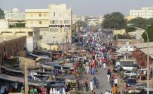 أحد أهم الشوارع المؤدية إلى سوق العاصمة (كابيتال) غداة الخميس (تصوير- السراج)
