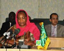وزيرة الشباب والرياضة الموريتانية كمابا (وم أ)