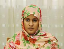 وزيرة البيطرة الموريتانية فاطمة فال بنت الصوينع (أرشيف - وم أ)