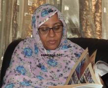 وزيرة االثقافة والصناعة النقليدية الموريتانية هند بنت عينينا وزيرة الصحة بالنيابة  (أرشيف - السراج)