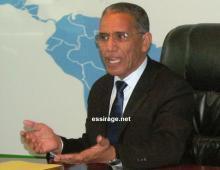 وزير الاتصال الناطق الرسمي باسم الحكومة الموريتانية أزيد بيه ولد محمد محمود (أرشيف - السراج)