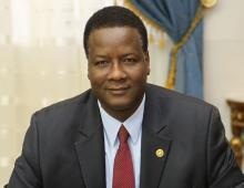 وزير البيئة الموريتاني آمدي كمرا (السراج)