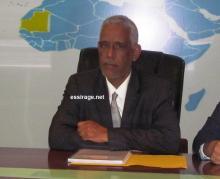 وزير العدل الموريتاني إبراهيم ولد عبد الله ولد داداه (تصوير - السراج)