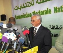 رئيس اللجنة المستقلة للانتخابات عبد الله ولد اسويد أحمد (أرشيف)