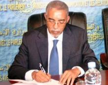 الوزير الأول الموريتاني يحيى ولد حدمين (أرشيف)