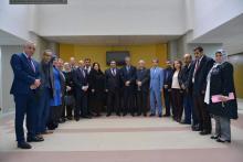 الفريق البرلماني للصداقة الجزائرية الموريتانية.