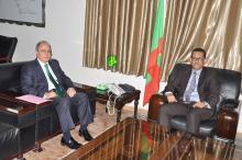 السفير التركي مع وزير المياه