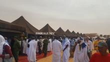 خيام المعرض المغربي خلال المهرجان