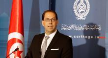 يوسف الشاهد: رئيس الحكومة التونسية.