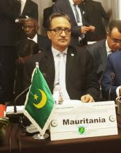 وزير الشؤون الخارجية والتعاون الموريتاني