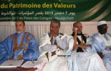 جانب من لجنة الخبراء المشرفين على وضع دليل إحياء التراث القيمي الموريتاني ويترأسهم الدكتور يحيى ولد البراء (السراج)