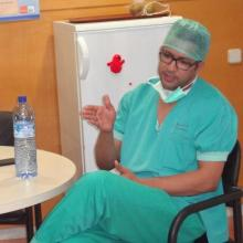 رئيس نقابة الأساتذة الاستشفائيين محمد محمود الحسن