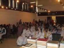 """مؤلف في """"انتظار الماضي"""" أحمد ولد إسلم في مقدمة الحاضرين (السراج)"""