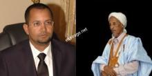 من اليمين الإمام والوزير