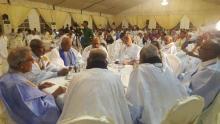 صورة بعض القادة السياسيين خلال النشاط