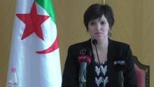 مريم مرداسي: وزيرة الثقافة الجزائرية المستقيلة