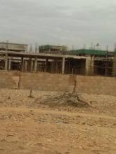 المستشفى تحت الانشاء