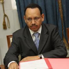 وزير الزراعة ابراهيم ولد امبارك ولد محمد مختار