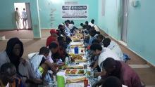صورة من أحد الإفطارات الجماعية