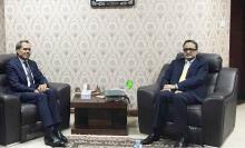 وزير الخارجية والسفير المغربي الجديد