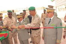 قائد الأركان العامة للجيوش لدى تدشينه مقرا جديدا لقيادة مديرية الهندسة العسكرية بنواكشوط.