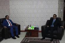 صورة من اللقاء مع السفير اليمني