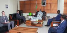صورة من لقاء السفير والوزيرة