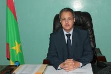 محمد الأمين ولد سيدي: مفوض حقوق الإنسان والعمل الإنساني والعلاقات مع المجتمع المدني.