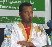 المنسق محكد محمود ولد عبد الجليل