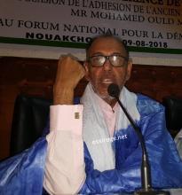 الوزير محمد ولد معاوية