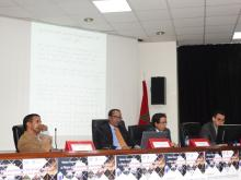 جلسة موريتانية خلال إحدي الندوات