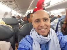 المهندس الموريتاني محمدو ولد صلاحي - الصورة من صفحة شقيقه التراد ولد صلاحي على فيسبوك