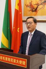 زهانغ جيانغو: السفير الصيني لدى موريتانيا
