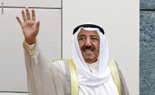 أمير دولة الكويت الراحل صباح الأحمد الجابر الصباح