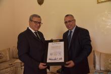 وزير العدل المغربي ورئيس اللجنة الوطنية لحقوق الإنسان