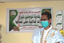 عمدة البلدية الدكتور محمد الامين شعيب