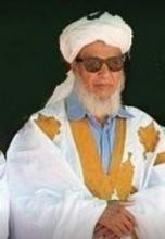 الرئيس الموريتاني الأسبق الراحل محمد محمود ولد أحمد لولي