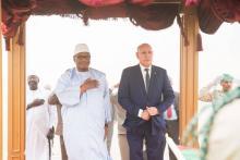 الرئيسان الموريتاني محمد ولد الشيخ الغزواني والمالي إبراهيم بوبكر كيتا
