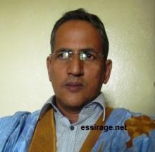 خالد ولد قيس قيادي بحزب الحراك الشبابي المنشق عن لالة بنت الشريف (السراج)