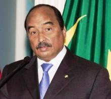 الرئيس الموريتاني محمد ولد عبد العزيز (ارشيف)