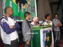جانب من حفل تكريم المخرج عبد الرحمن سيساغو وطاقمه الفني (السراج)