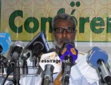 """رئيس حزب الاتحاد والتغيير الموريتاني """"حاتم"""" صالح ولد حننه (السراج)"""