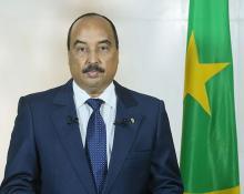 رئيس موريتانيا محمد ولد عبد العزيز (وم أ)