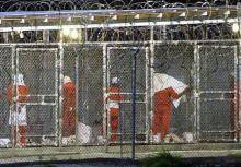 صورة خارجية من المعتقل الأمريكي بخليج غوانتنامو (إرشيف)