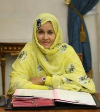 وزيرة الزراعة الموريتانية