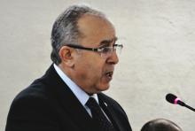 وزيرخارجية الجزاير رمضان لمعمامرة (أرشيف)