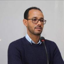أحمد ابيه ناشط سياسي مستشار شبابي في حزب الاتحاد من أجل الجمهورية