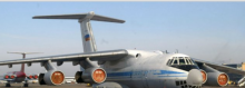 """طائرة روسية من طراز """"إليوشين آي إل 76"""